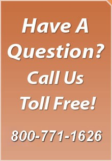 Have A Question? Call Us Toll Free!